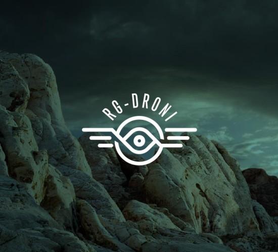 Logo Design RG Droni kreattivamente