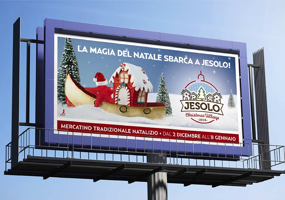 advertising invernale jesolo christmas village